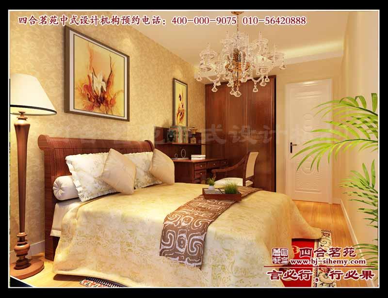 别墅设计案例 现代中式住宅效果图 香河家装