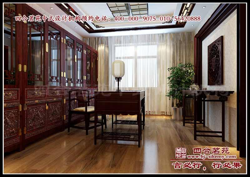 别墅设计案例--------优山美地中式别墅设计方案展示