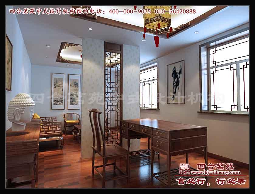 北京华鸿艺苑红木家具中式展厅设计三
