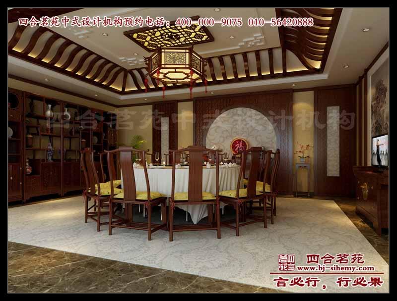 观唐别墅古典中式设计方案