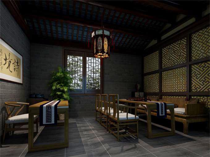 中式别墅设计装修方案