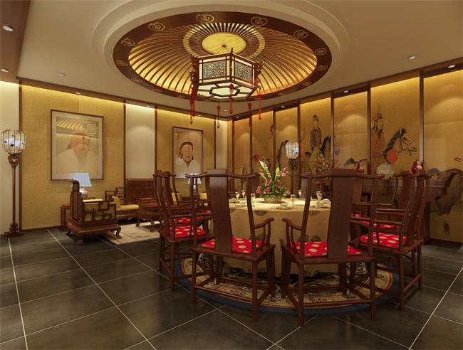 古雅私人会所设计图 清雅私人会所设计图 私人会所设计餐厅