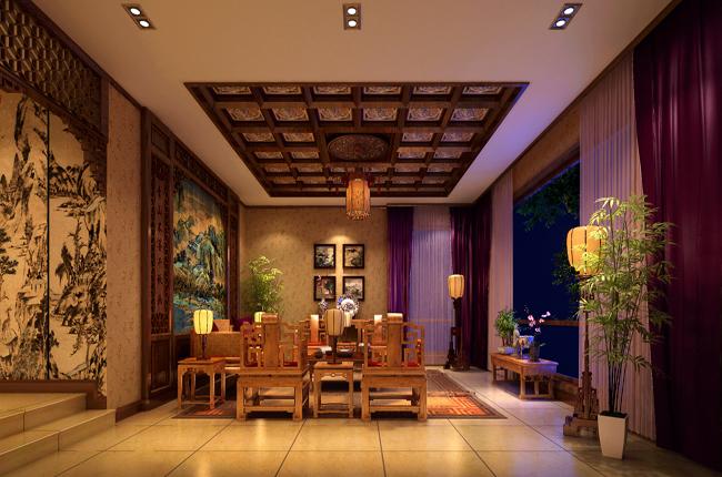 中式别墅设计装修技巧
