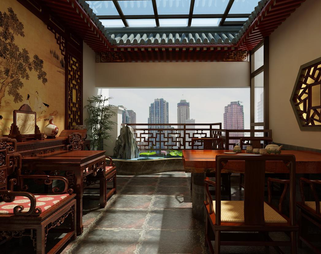 中式别墅设计装修方案大全