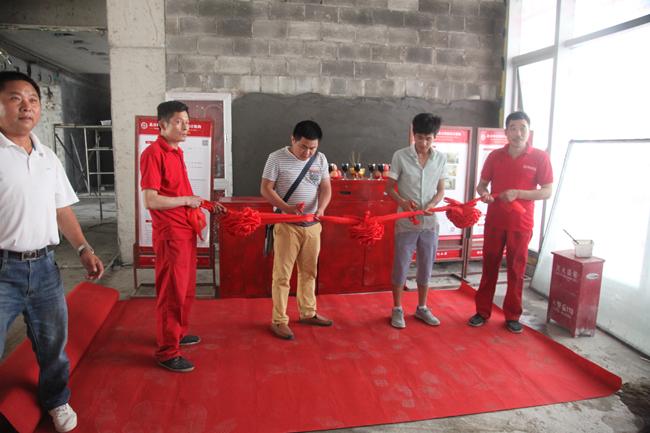 中式茶楼装修施工跟踪
