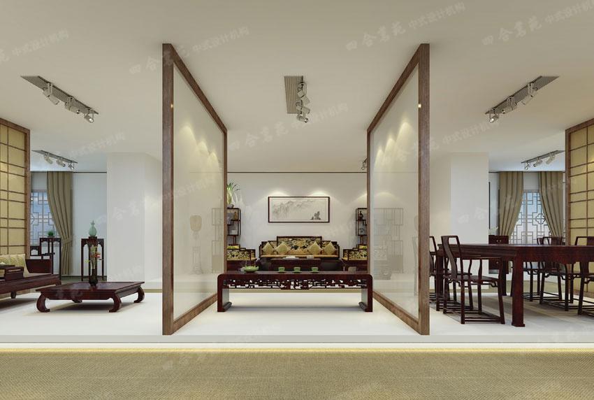 一,中式玄关设计  玄之又玄,众妙之门,中式玄关