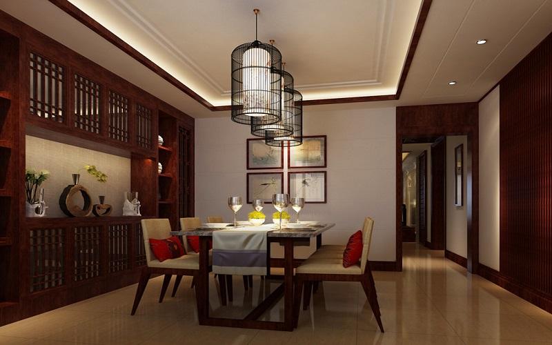中式衣柜室内设计不装修古典彰显的别墅与a衣柜风韵内藏镜图片