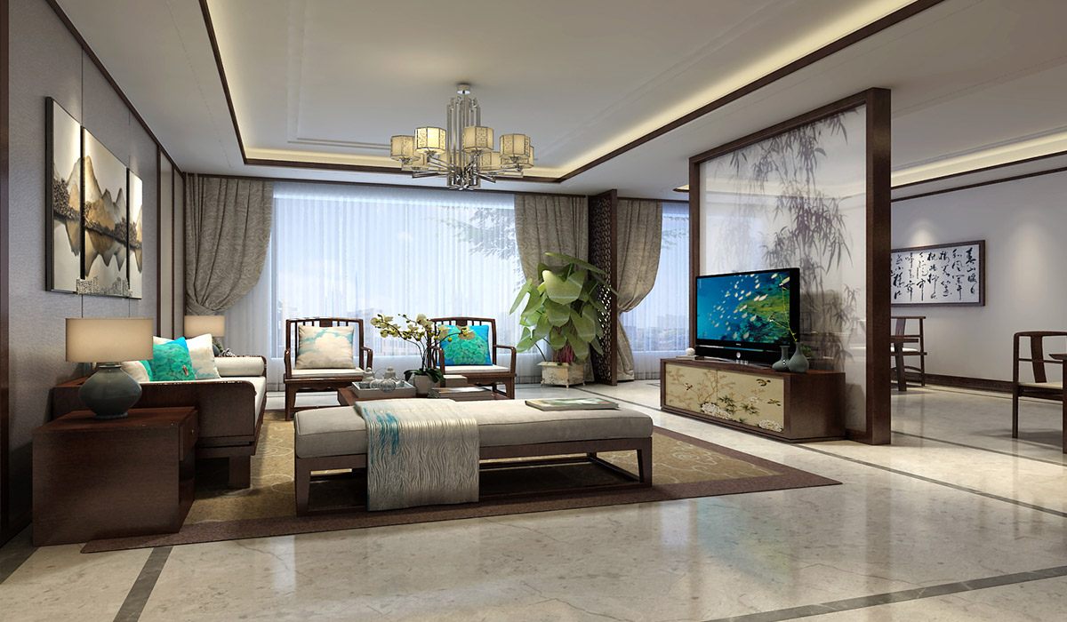 四合名苑中式别墅全案设计月活动 优惠享不停