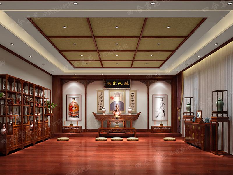中式家装设计_中式家居设计_中式设计装修室内设计应届生面试问题图片
