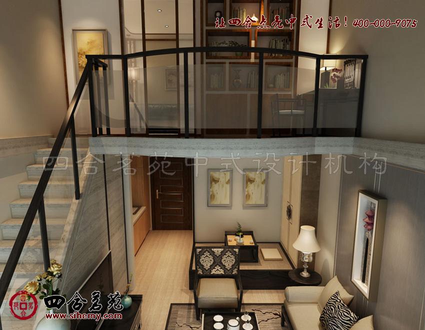 四合茗苑中式家居装修:传统之上的创新设计
