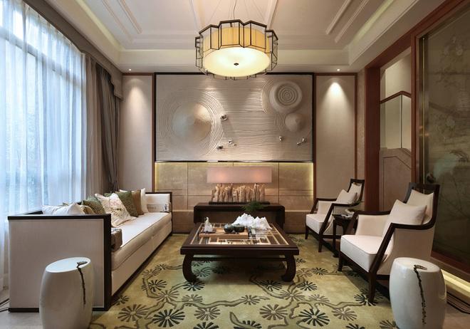 新中式室内装修设计效果图赏析