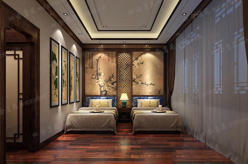 四合茗苑中式房屋装修:传统家居注入新气息