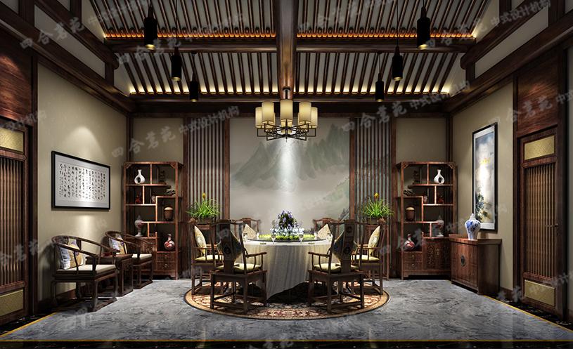 中式装修客厅效果图 情趣高雅令人如痴如醉