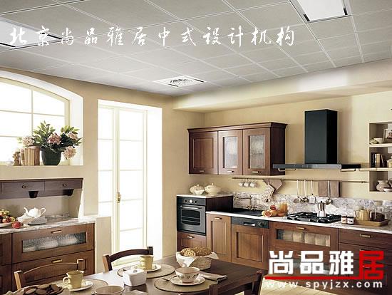 中西結合簡約中式設計風格-廚房及就餐