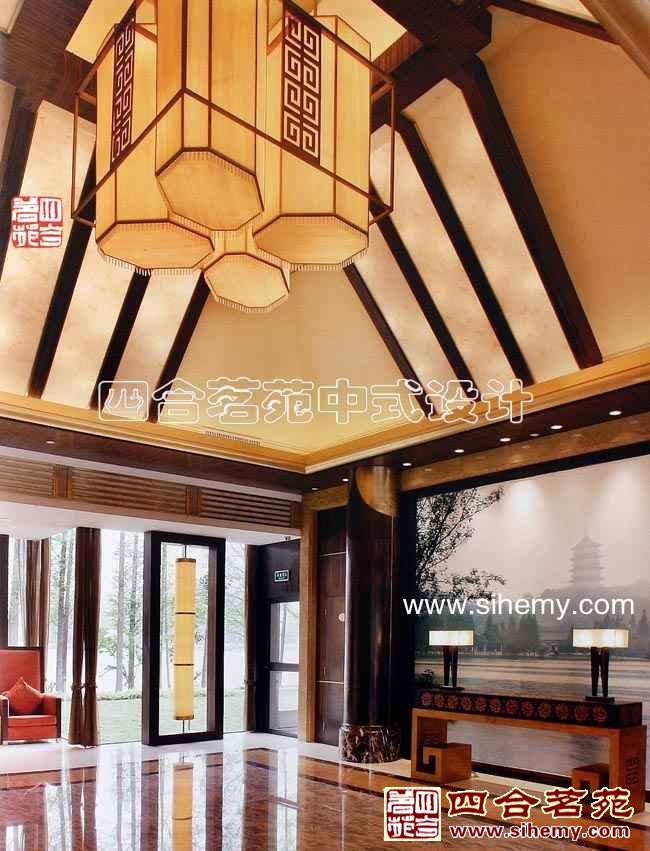 酒店中式设计实景图片