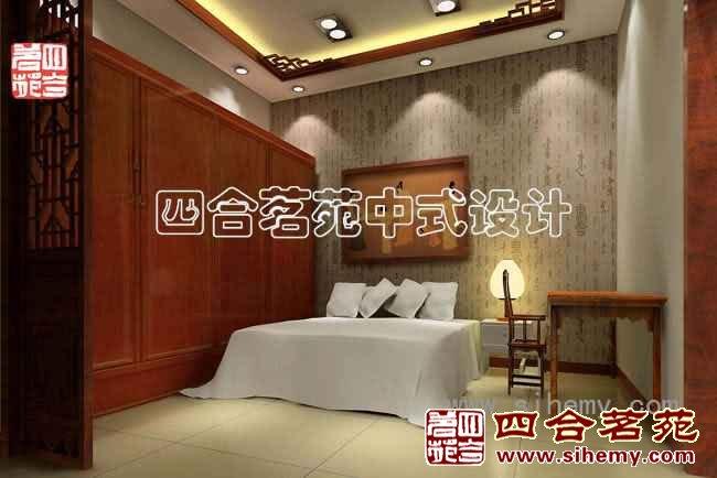 现代中式酒店装修效果