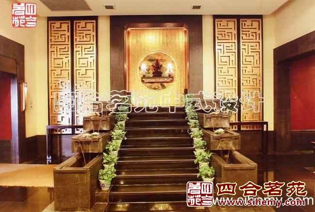 新中式风格酒店中式装修案例