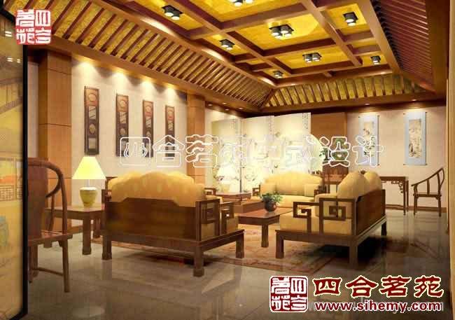 复古中式会所设计 - 配茶室