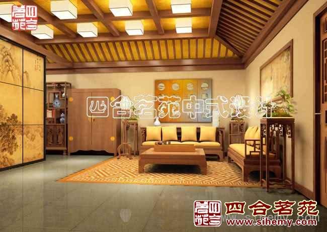 复古中式会所设计 - 会客厅