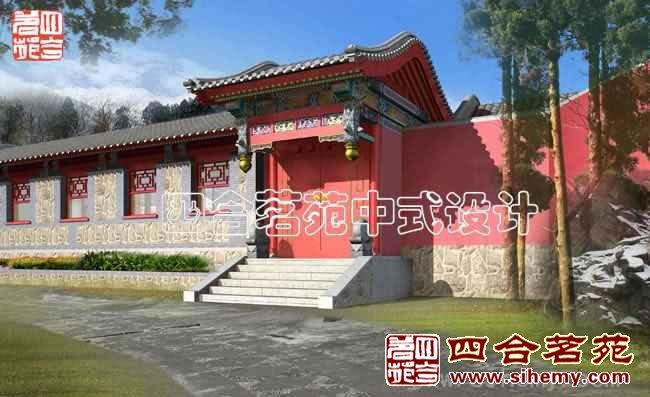 复古中式会所设计 - 入口