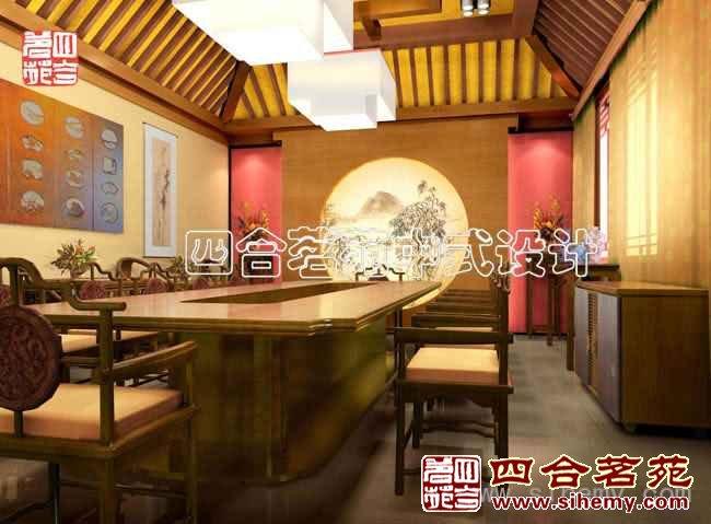 复古中式会所设计 - 会议室