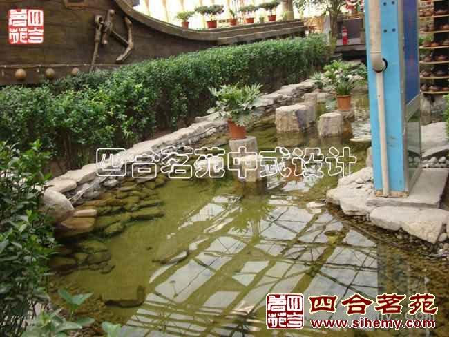 中式现代茶楼装修案例