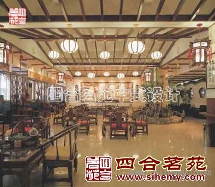 古典中式茶楼装修效案例