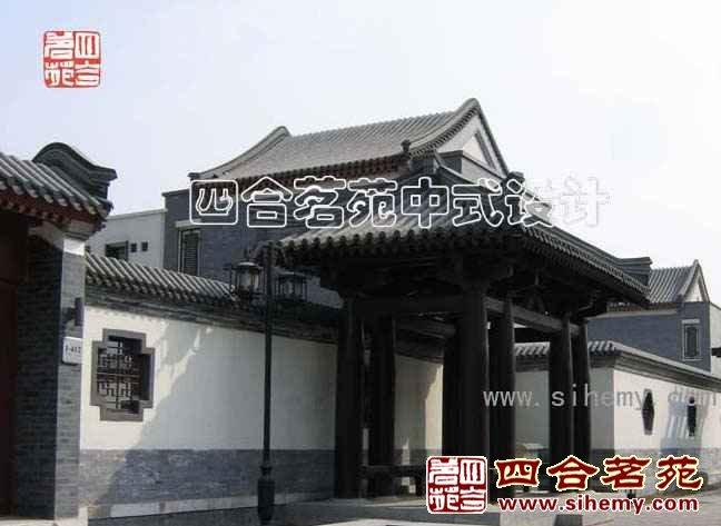 四合院别墅中式装修设计案例-建材商城-四川论坛