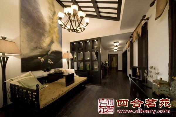 四合茗苑供应杭州简约中式家居风格设计