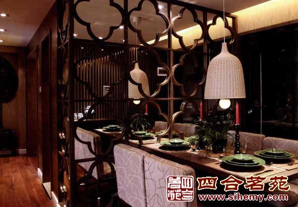 中式风格设计中式餐厅注意新理念