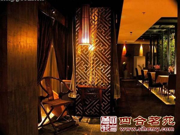 新中式茶楼设计风格的别样韵味-茶楼包间区效果