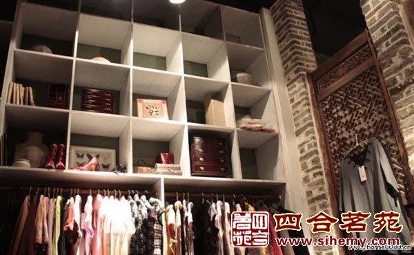 丝绸的细腻之服装店