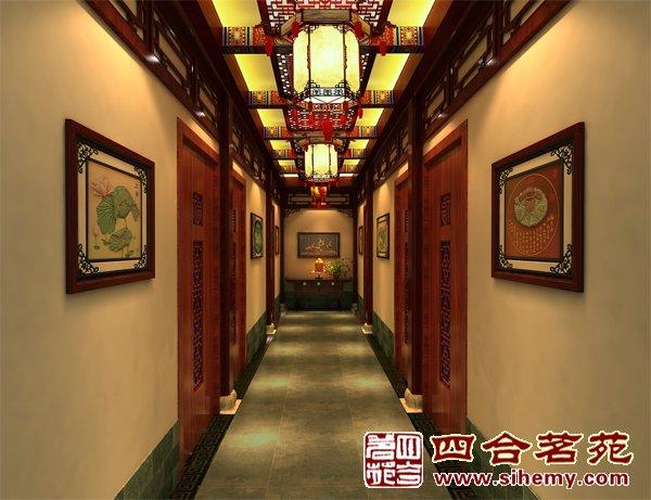 中式设计——湖南怀化国医馆图片