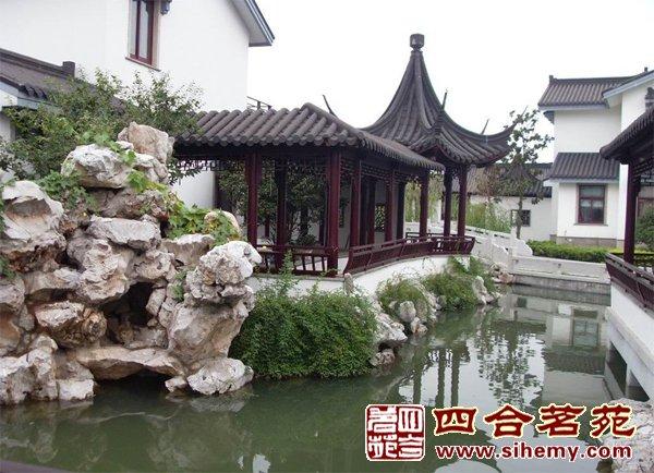 中式装修庭院设计之庭园风水