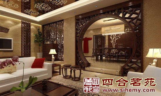 """,让房间里充满了悠扬的传统文化韵味,中式家具同样不可或缺,如果缺少了它们,完美的中式家居环境就无法实现。   中式装修在布局上与欧美风格有着很大的区别,""""中国风""""讲究的是空间的互相借鉴和渗透。如果房间里放置的是中式家具,就不能悬挂一盏地中海风格的吊灯。如果书房以古典样式为主,就不能放置一把后现代风格的金属坐椅,否则就会破坏原本具有的中式风格。   饰品是神 画龙点睛无须多   一卷古籍、一盏明灯、一壶清茶,再搭配几只青花瓷茶杯,如此充满中式浪漫的夜晚,谁会不为之心动?"""