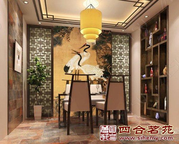 国画瓷砖成中式设计时尚新宠