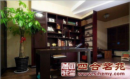 中式风格卧室书装装修设计效果