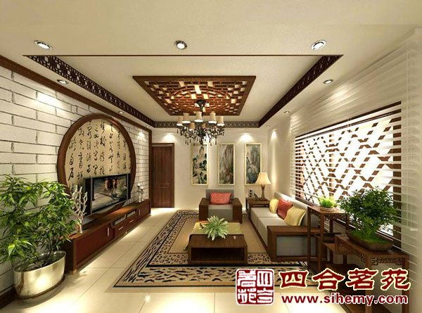 中国传统文化在现代室内设计方面的体现,有会的么?谢谢了