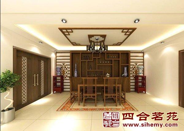 现代室内设计中式文化元素的传承与延伸